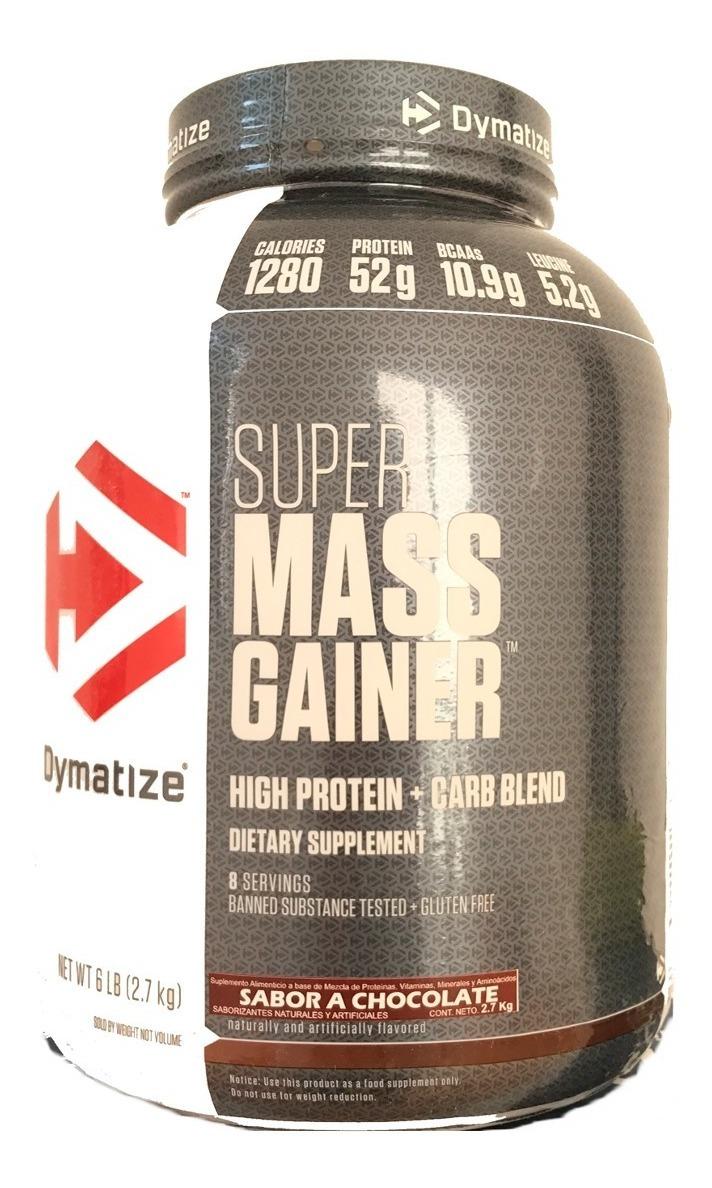 Proteina Dymatize Ganador Super Mass Gainer 6 Libras 27 Kg