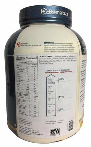 proteina dymatize iso 100 5 lb sabor banana
