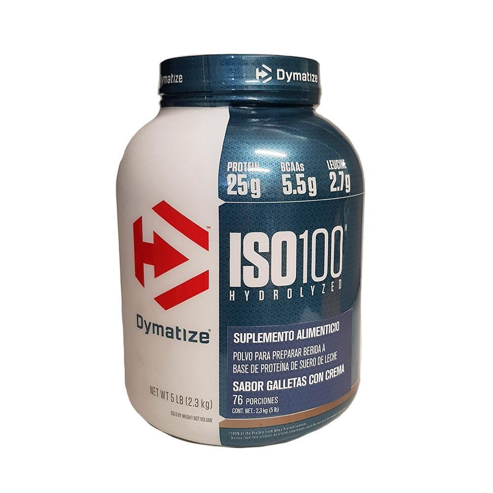 b294a2b2c Proteina Dymatize Iso 100 5 Lb Sabor Galletas Con Crema -   1