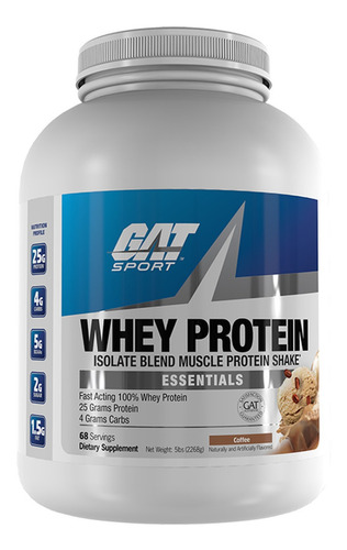 proteina. gat sport whey protein 5 lb. outlet-smart