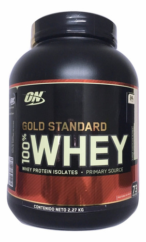 proteina gold standard 100% whey 5 lb chocolate blanco