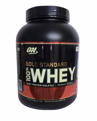 proteina gold standard 100% whey 5 lb moka capuchino