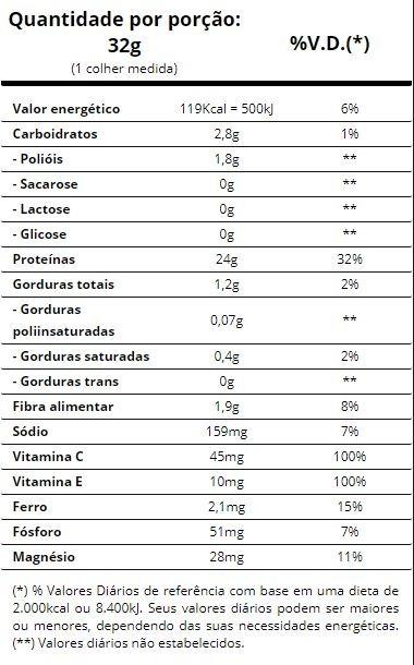 0fb1164cf Proteína Hidrolisada E Isolada Da Carne Bovina 480g - R  114