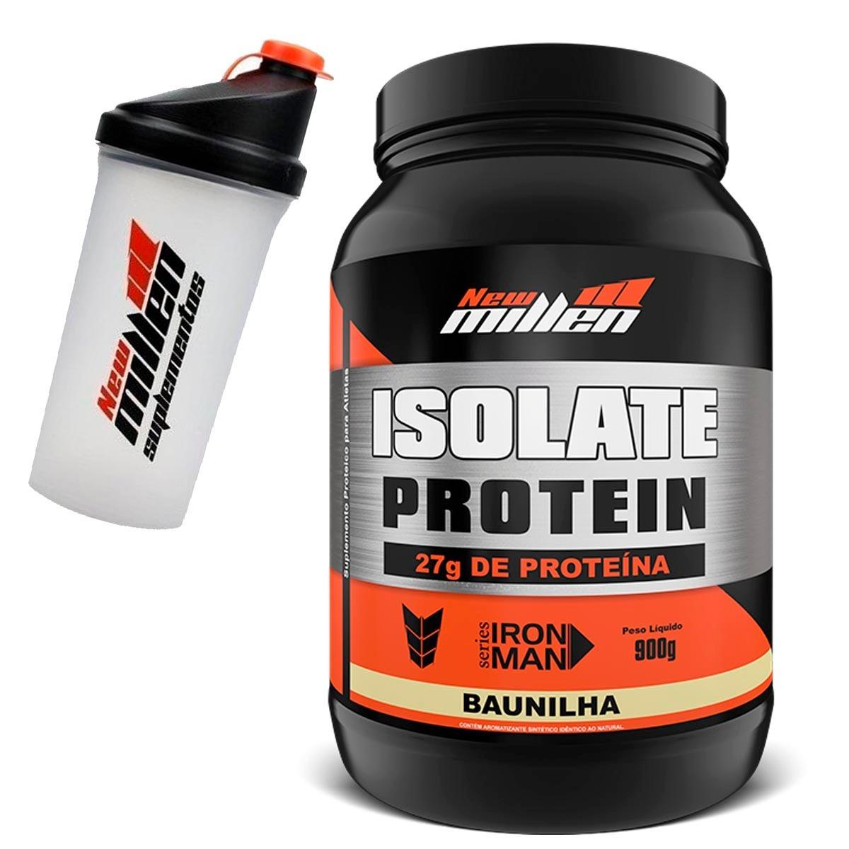 82cb5f0f2 Proteína Isolada - Isolate Protein + Brinde New Millen - R  109