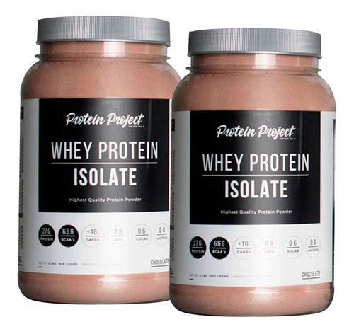 proteina isolate protein project x 2 unidades