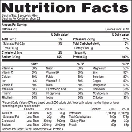 proteina isopure zero carb 3 lbs sabor fresa