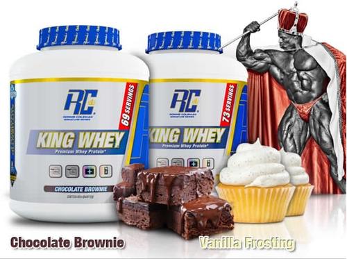 proteina king whey 5 lbs (70 serv)