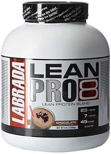 proteina labrada lean pro 8 (5 - lbs) sabor chocolate