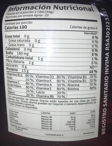 proteina limpia de la mejor calidad - unidad a $116