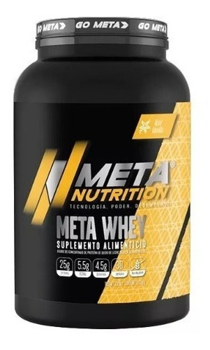 proteina meta nutrition meta whey vainilla 5 lbs suplemento