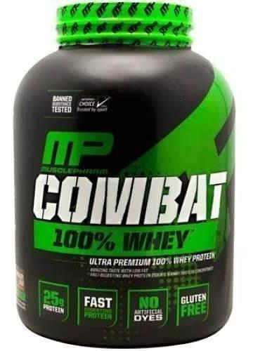 proteina mp combat 100% whey 5 libras sabor chocolate