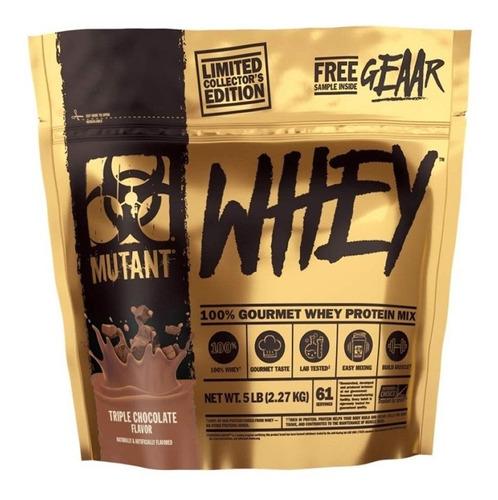 proteina mutant whey 5 lbs sabor triple chocolate
