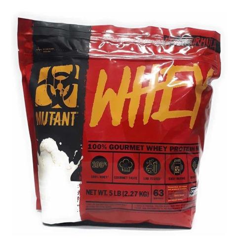 proteina mutant whey 5 libras varios sabores 63 serv envío full