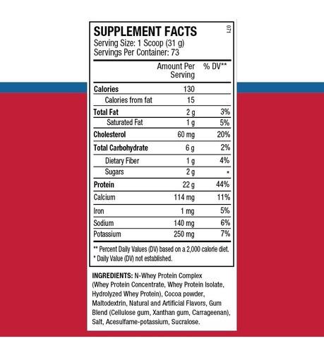 proteína n-whey premium x 5 lbs  de ans performance!! envío sin cargo a todo el pais!!