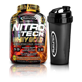 Proteína Nitrotech Whey Gold 5 Lbs+ Shaker + Envío Gratis!