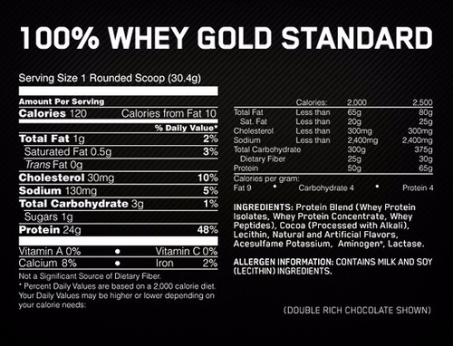 proteina on gold standard 100% whey 5 lbs (2.26 kg) todos los sabores!