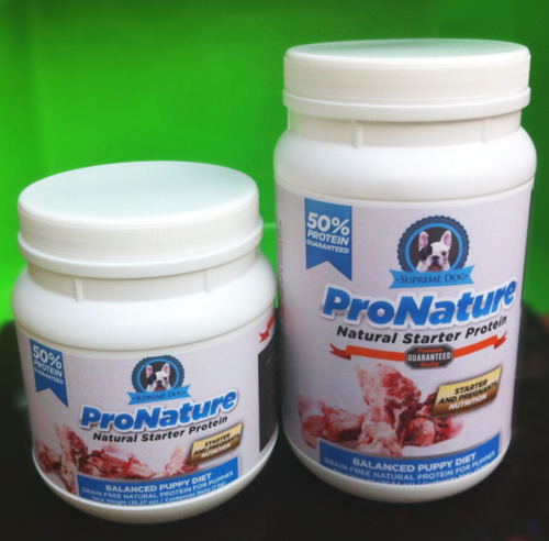 proteína para perro pronature® by supreme dog tarro de 2kg