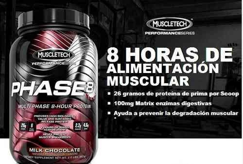 proteina phase 8, 2 lbs muscletech musculos