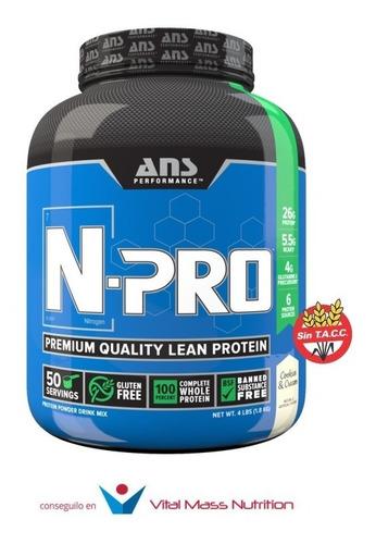 proteína premium n-pro x 4 lbs de ans performance!! envío sin cargo a todo el pais!!