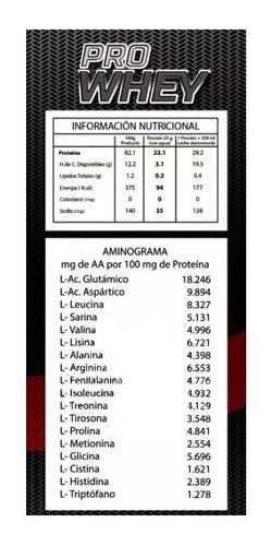 proteina pro whey lobarede (40 serv) + envio gratis