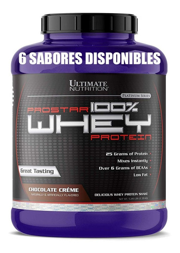 proteina prostar 100% whey 5 lb - [6 sabores disponibles]