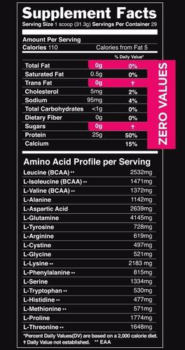 proteína sascha fitness 2 lbs hidrolizada coco