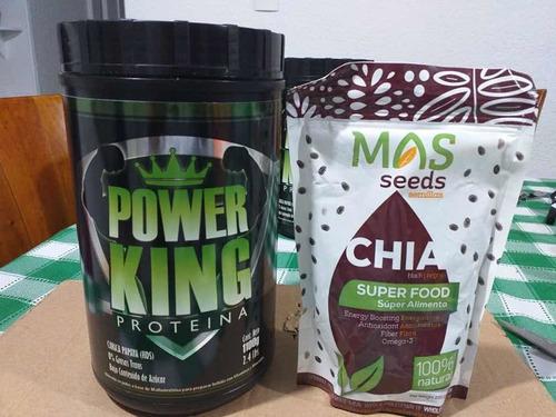 proteína + semilla de chía