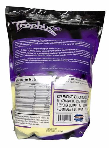 proteina trophix syntrax 5 lb (73 srvs) sabor vainilla