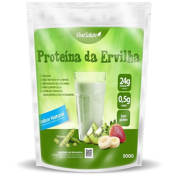17bd1dfe5 Proteína Vegana Da Ervilha (pea Protein) Viva Salute - 1kg - R  75 ...