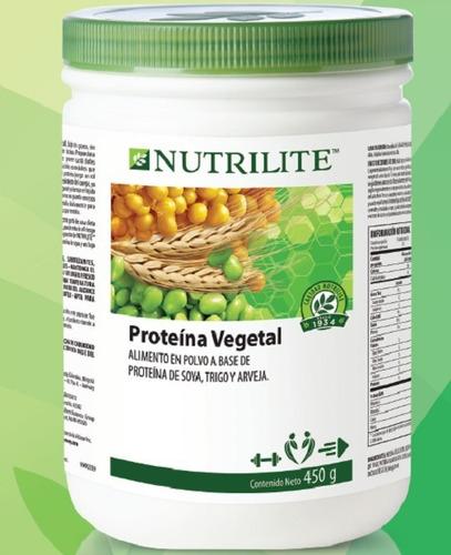 proteína vegetal en polvo - amway nutrilite