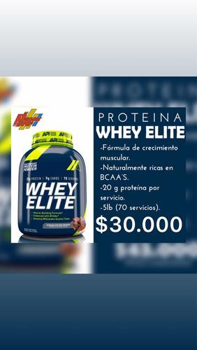 proteina whey elite