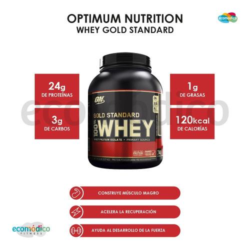 proteina whey gold standard 5 lb optimum - importada