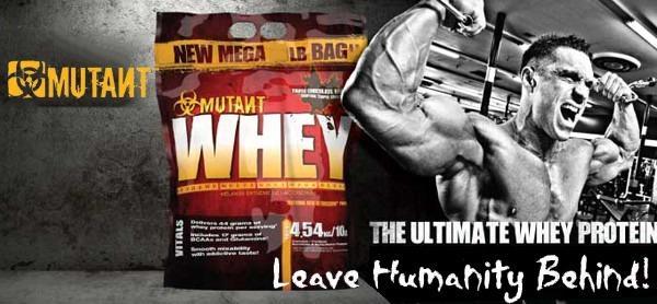 Proteína Whey Mutant Con 5g Bcaa's 5lbs (2.27 Kg) - $ 32