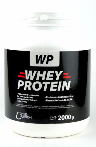 proteína whey protein cibeles 2 kg - envíos a todo el país!