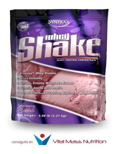 proteina whey shake x 5 lbs de syntrax usa!! envio sin cargo a todo el pais!!