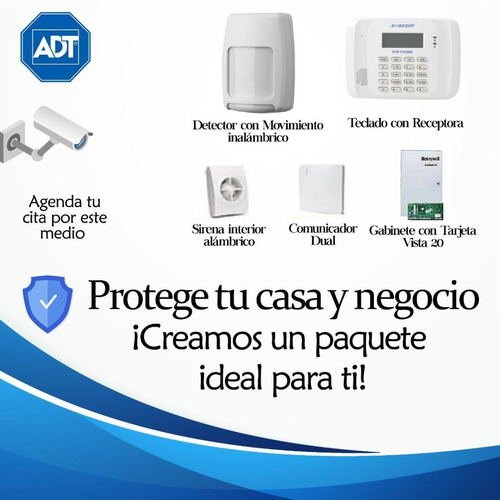 proteja su hogar o negocio ! nos adaptamos a tus necesidades