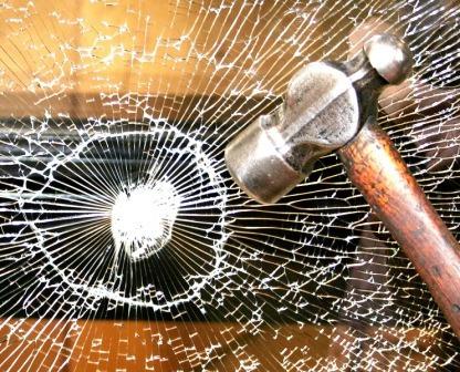 proteja vidrios ventanas con film 1m x 1.52 - resiste golpes