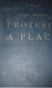 Protesis A Placa - Pedro Saizar -4ta Edicion