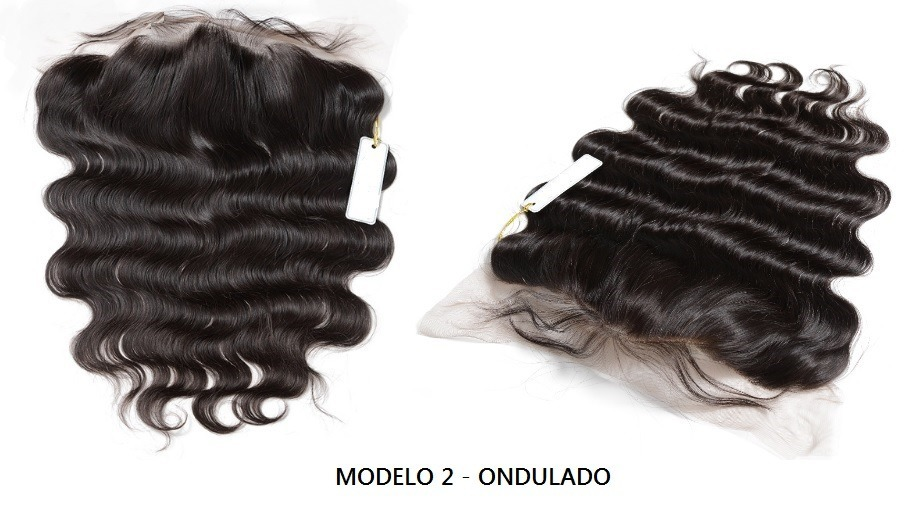 Protesis Frontal Pelo Natural 100% Full Lace 20 A 50cm -   8.299 aa15ff7632c8