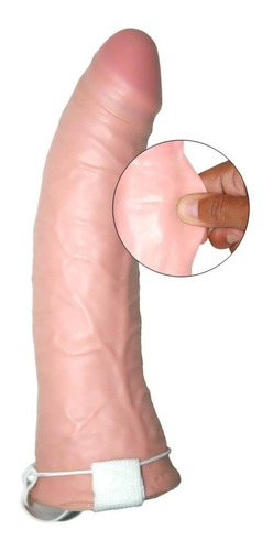 prótesis peneana hueca bananín funda sexshops