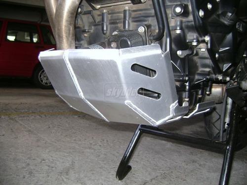 protetor alumínio motor carter bmw f800gs f 800 gs skydder