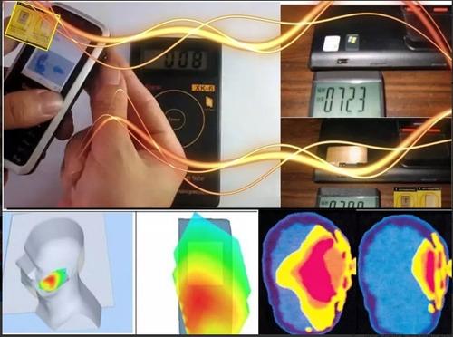 protetor anti poluição eletromagnética leve 10 peças