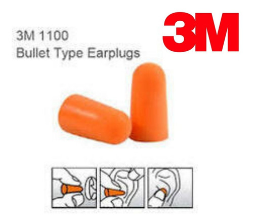 protetor auricular 3m espuma ouvidos abafador - 10 pares