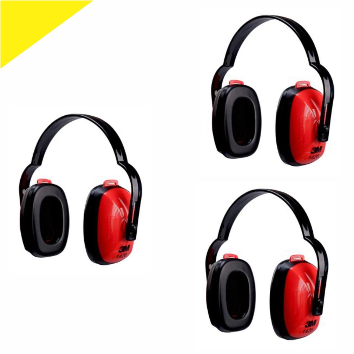 Protetor Auricular Tipo Concha 3m 1426 C 3 Peças Kit - R  99,00 em ... 5e74e83098