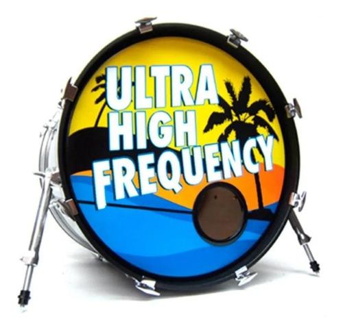 protetor bass drum's p/ furo de bumbo ahead hbl 5  preto