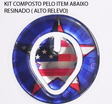 protetor bocal tanque moto honda xre 300 xr capitão america