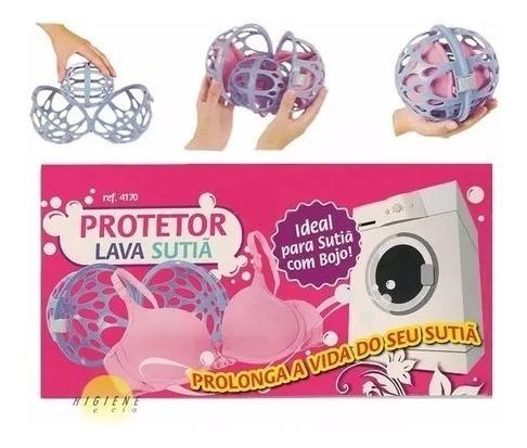protetor bola para lavar sutiã e roupa finas máquina de lava