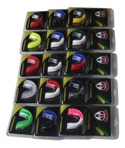 protetor bucal profissional luta - unitário - escolha a cor