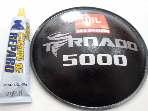protetor calota p/ jbl selenium tornado 5000 160mm + cola