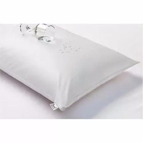 protetor capa de travesseiro impermeável 50cm x 70cm  barato